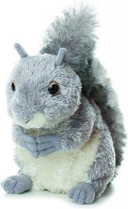 Peluche de Ardilla de Aurora de 20 cm - Los mejores peluches de ardillas - Peluches de animales