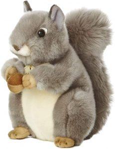 Peluche de Ardilla de Aurora de 25 cm - Los mejores peluches de ardillas - Peluches de animales