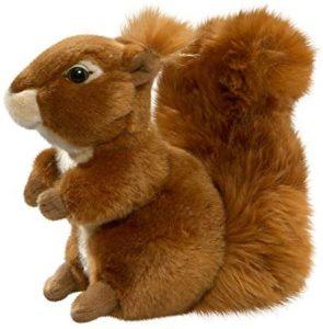 Peluche de Ardilla de Carl Dick de 19 cm - Los mejores peluches de ardillas - Peluches de animales