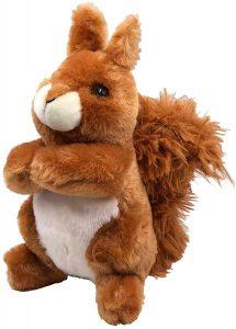 Peluche de Ardilla de JuniorToys de 24 cm - Los mejores peluches de ardillas - Peluches de animales
