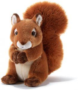 Peluche de Ardilla de Plush&Company de 23 cm - Los mejores peluches de ardillas - Peluches de animales