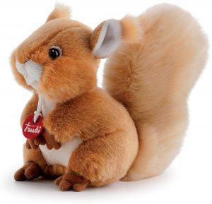 Peluche de Ardilla de Trudi de 20 cm de altura - Los mejores peluches de ardillas - Peluches de animales