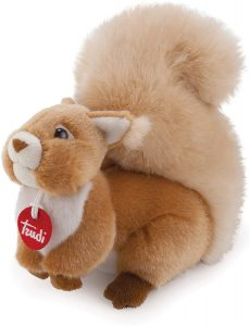 Peluche de Ardilla de Trudi de 24 cm de altura - Los mejores peluches de ardillas - Peluches de animales