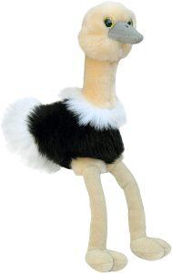 Peluche de Avestruz de Aurora de 25 cm - Los mejores peluches de avestruces - Peluches de animales