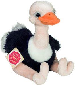 Peluche de Avestruz de Teddy Hermann de 20 cm - Los mejores peluches de avestruces - Peluches de animales