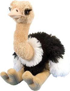 Peluche de Avestruz de Wild Republic de 20 cm - Los mejores peluches de avestruces - Peluches de animales