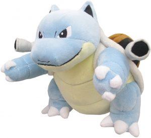 Peluche de Blastoise de Pokemon de Sanei de 17 cm - Los mejores peluches de Squirtle - Peluches de Pokemon