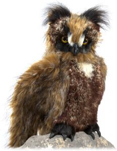 Peluche de Búho de Folkmanis de 45 cm - Los mejores peluches de buhos - Peluches de animales