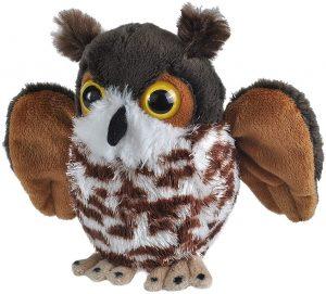 Peluche de Búho de Wild Republic de 13 cm - Los mejores peluches de buhos - Peluches de animales