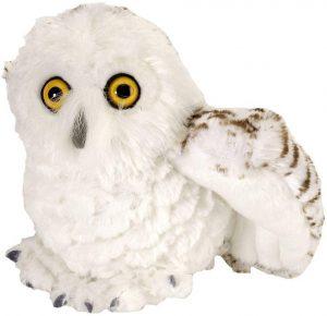 Peluche de Búho de las nieves de Wild Republic de 20 cm - Los mejores peluches de buhos - Peluches de animales