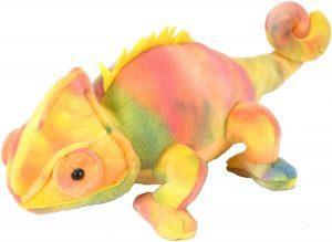 Peluche de Camaleón de Wild Republic de 30 cm - Los mejores peluches de camaleones - Peluches de animales