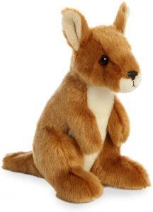 Peluche de Canguro de Aurora World de 18 cm - Los mejores peluches de canguros - Peluches de animales