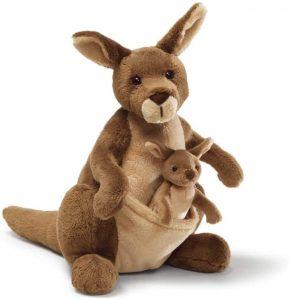 Peluche de Canguro de Gund de 25 cm - Los mejores peluches de canguros - Peluches de animales
