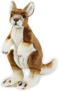 Peluche de Canguro de National Geographic de 30 cm - Los mejores peluches de canguros - Peluches de animales