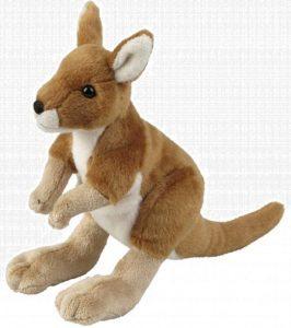 Peluche de Canguro de Ravensden de 26 cm - Los mejores peluches de canguros - Peluches de animales