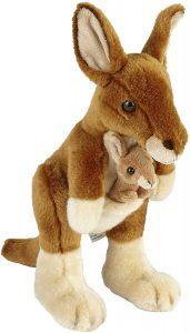 Peluche de Canguro de Ravensden de 28 cm - Los mejores peluches de canguros - Peluches de animales