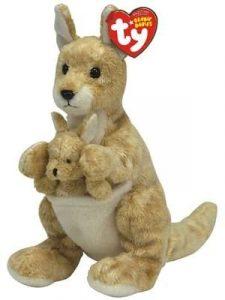 Peluche de Canguro de TY de 18 cm - Los mejores peluches de canguros - Peluches de animales
