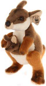 Peluche de Canguro de WWF de 19 cm - Los mejores peluches de canguros - Peluches de animales