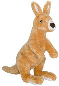 Peluche de Canguro de Wild Planet de 34 cm - Los mejores peluches de canguros - Peluches de animales