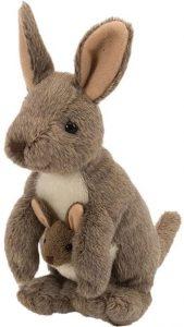 Peluche de Canguro de Wild Republic de 20 cm - Los mejores peluches de canguros - Peluches de animales
