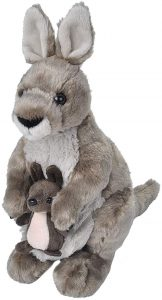 Peluche de Canguro de Wild Republic de 27 cm - Los mejores peluches de canguros - Peluches de animales