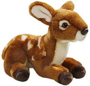Peluche de Ciervo de Carl Dick de 18 cm - Los mejores peluches de ciervos - Peluches de animales