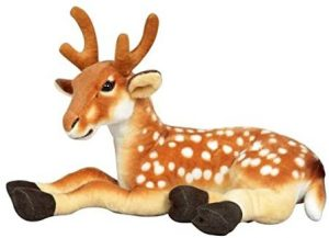Peluche de Ciervo de UK Christmas World de 45 cm - Los mejores peluches de ciervos - Peluches de animales
