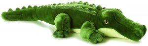 Peluche de Cocodrilo de Aurora de 30 cm - Los mejores peluches de cocodrilos y caimanes - Peluches de animales