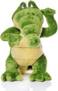 Peluche de Cocodrilo de Cantajuego de 26 cm - Los mejores peluches de cocodrilos y caimanes - Peluches de animales