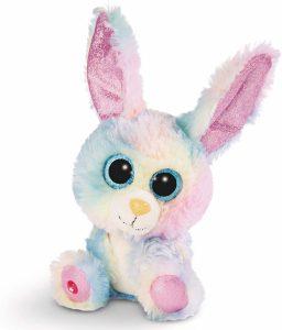 Peluche de Conejo Rainbow de NICI de 15 cm - Los mejores peluches de conejos - Peluches de animales