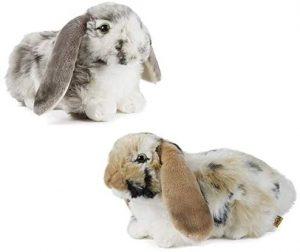 Peluche de Conejo de Living Nature de 25 cm - Los mejores peluches de conejos - Peluches de animales