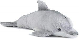 Peluche de Delfin de Living Nature de 30 cm - Los mejores peluches de delfines - Peluches de animales
