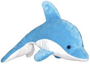 Peluche de Delfin de Wild Planet de 25 cm - Los mejores peluches de delfines - Peluches de animales