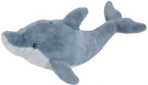 Peluche de Delfin de Wild Republic de 20 cm - Los mejores peluches de delfines - Peluches de animales