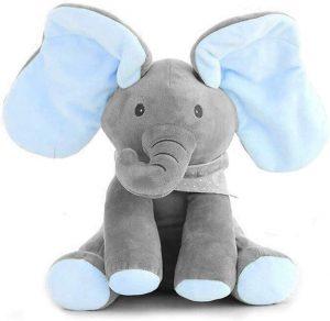 Peluche de Elefante de Dreamsbox de 30 cm - Los mejores peluches de elefantes - Peluches de animales