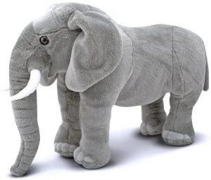 Peluche de Elefante de Melissa & Doug de 70 cm de altura - Los mejores peluches de elefantes - Peluches de animales