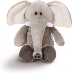 Peluche de Elefante de NICI de 20 cm - Los mejores peluches de elefantes - Peluches de animales