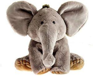 Peluche de Elefante de Schaffer de 13 cm - Los mejores peluches de elefantes - Peluches de animales