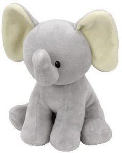 Peluche de Elefante de Ty Baby Bubbles de 25 cm - Los mejores peluches de elefantes - Peluches de animales