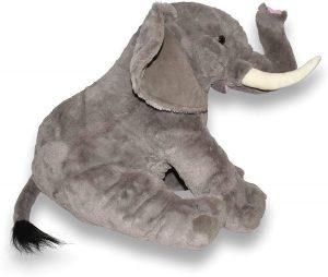 Peluche de Elefante de Wild Republic de 53 cm - Los mejores peluches de elefantes - Peluches de animales