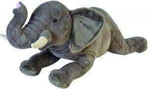 Peluche de Elefante de Wild Republic de 76 cm - Los mejores peluches de elefantes - Peluches de animales