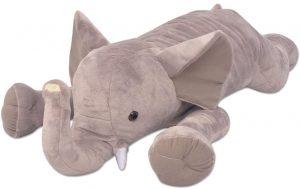 Peluche de Elefante de XL de 120 cm - Los mejores peluches de elefantes - Peluches de animales