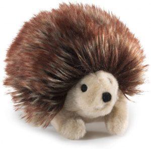 Peluche de Erizo de Folkmanis de 10 cm - Los mejores peluches de erizos - Peluches de animales