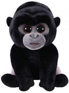 Peluche de Gorila de Ty Beanie Babies de 15 cm - Los mejores peluches de gorilas - Peluches de animales