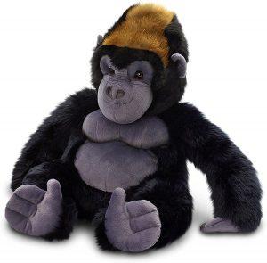 Peluche de Gorila de Wild Nation de 30 cm - Los mejores peluches de gorilas - Peluches de animales