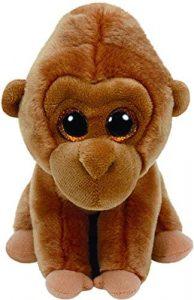 Peluche de Gorila marrón de Ty de 15 cm - Los mejores peluches de gorilas - Peluches de animales
