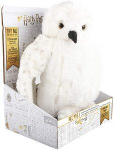 Peluche de Hedwig con sonido de lechuza de Harry Potter de Wow Stuff de 30 cm - Los mejores peluches de Hedwig - Peluches de Harry Potter