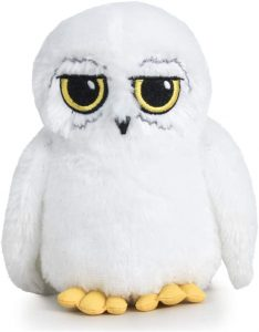 Peluche de Hedwig de lechuza de Harry Potter de Famosa Softies de 20 cm - Los mejores peluches de Hedwig - Peluches de Harry Potter