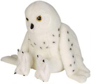 Peluche de Hedwig de lechuza de Harry Potter de Wild Republic de 30 cm - Los mejores peluches de Hedwig - Peluches de Harry Potter