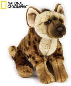 Peluche de Hiena de National Geographic de 22 cm - Los mejores peluches de hienas - Peluches de animales